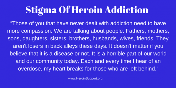 Stigma of Heroin Addiction