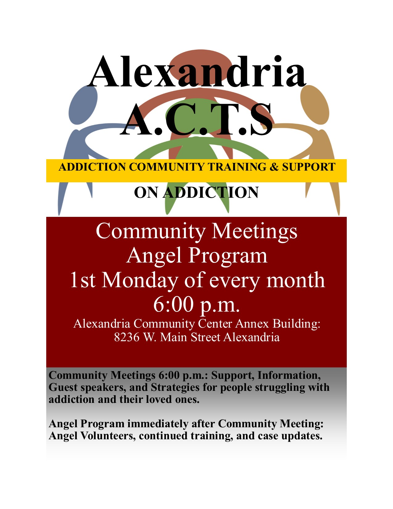 "Alexandria, Ky - ""Angel Program"" - Volunteers Helping Those Who Are Struggling With Addiction"