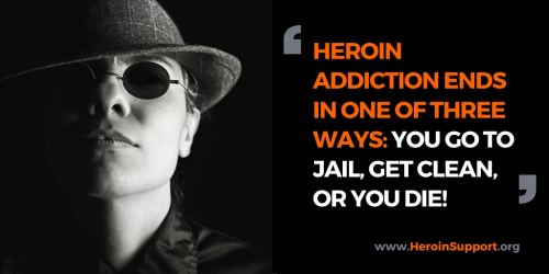 Heroin or Jail